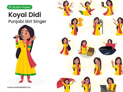 Koyal Didi – The Punjabi Singer Vector Bundle