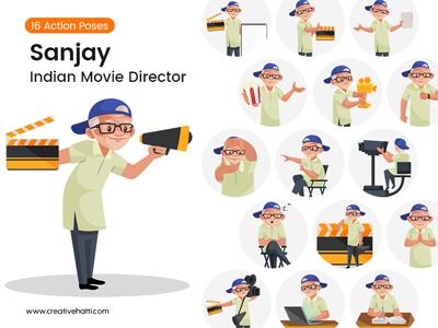 Sanjay-the-movie-director-vector-bundle-thumbnail-Small