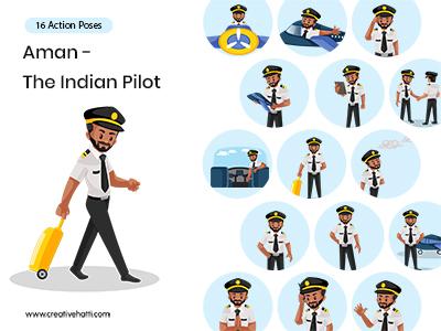 Aman – The Super Pilot Vector Bundle
