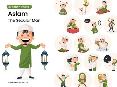 Aslam – The Muslim Man Vector Bundle