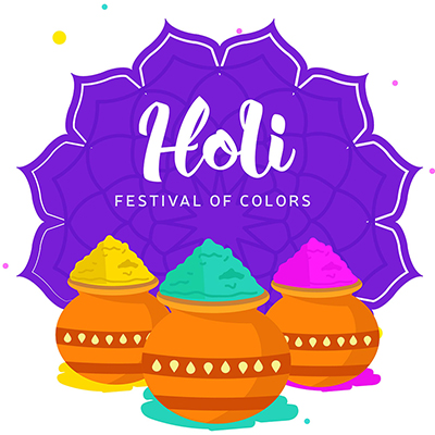 Indian festival of colors with happy Holi banner design template-01 small