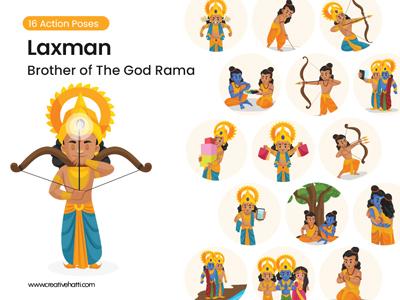 Laxman---Brother-of-the-God-Rama Vector Bundle Thumbnail-Small