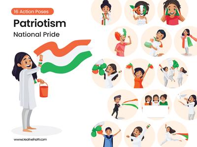Patriotism – National Pride Vector Bundle