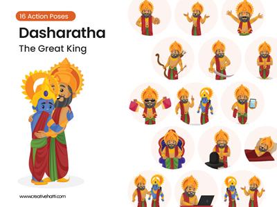 Raja-Dasharatha---The-Great-King-Vector Bundle Thumbnail Small