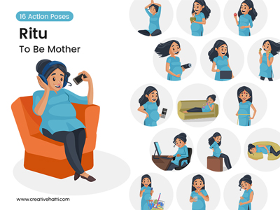 Ritu-the-mother-to-be-vector-bundle-Thumbnail-Small