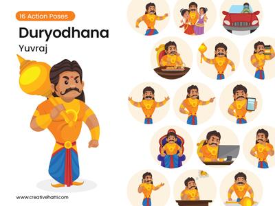 Duryodhana cartoon character
