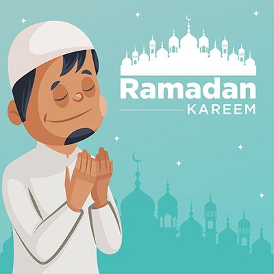 Banner template of Islamic Ramadan Kareem and eid festival