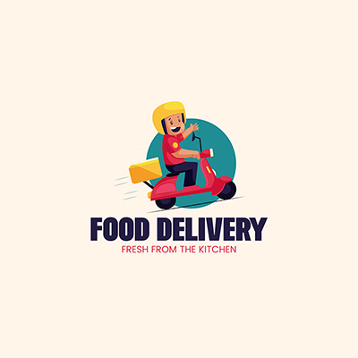 Food Delivery Logo Template 18 small