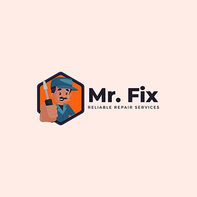 Mr.Fix Repair Service Logo Template-20 small