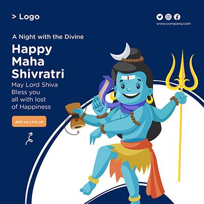 Social media banner design of happy maha shivratri-16 small