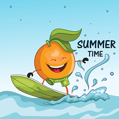 Banner design of summer time 16 small