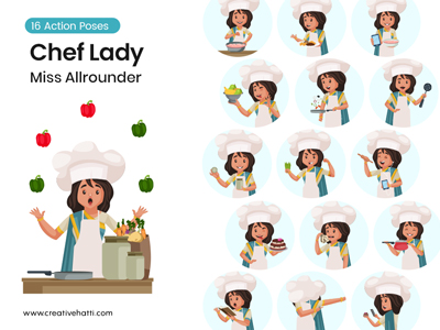 Chef Lady – Miss All rounder-small