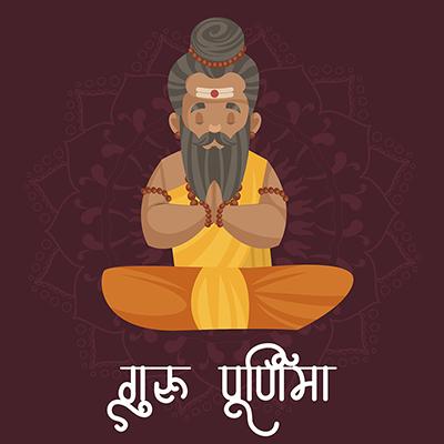 Guru Purnima template banner