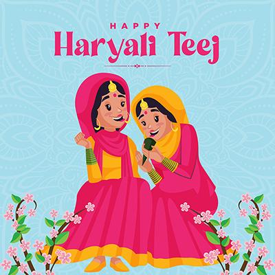 Template banner for happy haryali teej-6-small