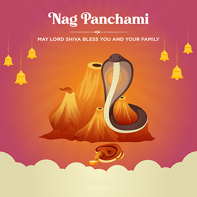 Template banner of nag panchami religious worship day -08 small